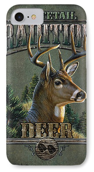 Whitetail Deer Traditions Phone Case by JQ Licensing