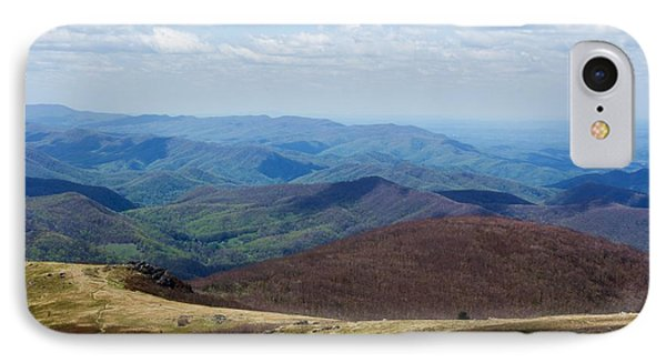 Whitetop Mountain Virginia IPhone Case by Laurinda Bowling