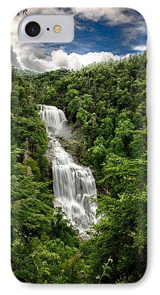 Whitewater Falls IPhone Case by John Haldane