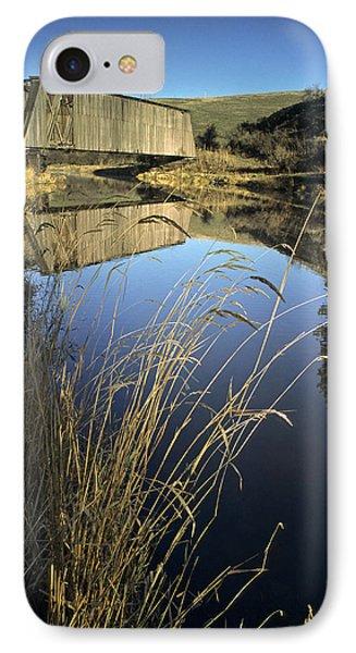 Whitman County Bridge IPhone Case