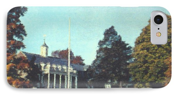Whittle Hall IPhone Case by Bruce Nutting