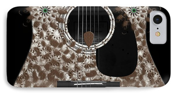 Who Are You - Owl Abstract Guitar Phone Case by Andee Design