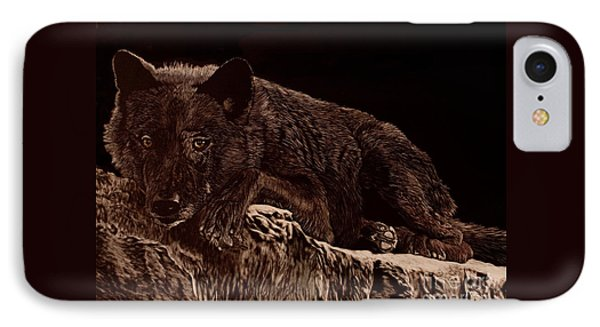 Who Goes There IPhone Case