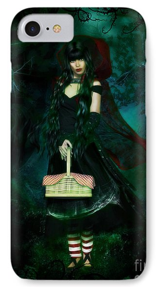 Who Is Afraid Of The Big Bad Wolf IPhone Case by Shanina Conway