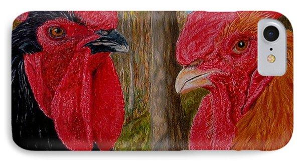 Who You Calling Chicken Phone Case by Karen Ilari