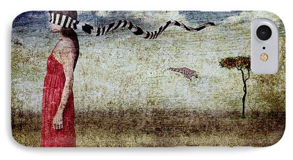 Why Yes Emily I Do Like Giraffes Phone Case by Andre Giovina
