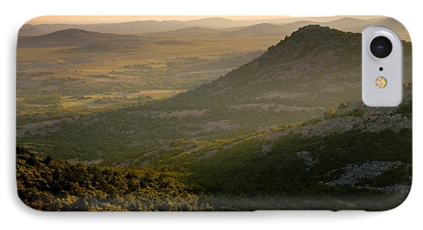 Wichita Mountains At Sunset IPhone Case