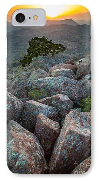 Wichita Mountains IPhone Case by Inge Johnsson