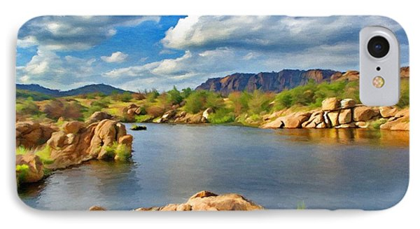 Wichita Mountains Phone Case by Jeffrey Kolker