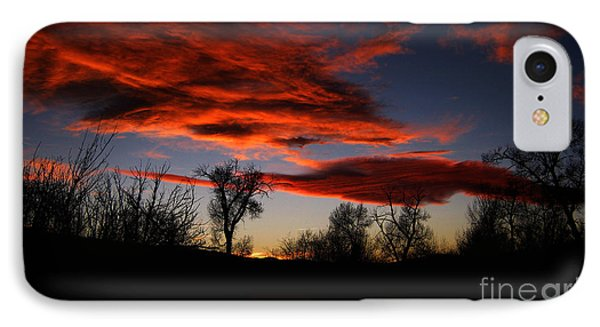 IPhone Case featuring the photograph Wicked Skies by Janice Westerberg