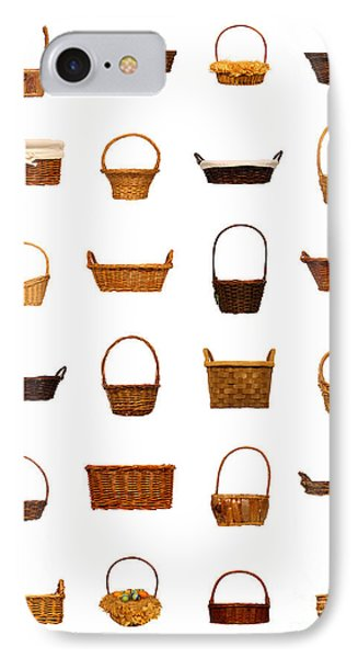 Wicker Basket Collection Phone Case by Olivier Le Queinec