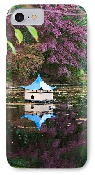IPhone Case featuring the photograph Wickham Oriental Pond by Dawn Romine