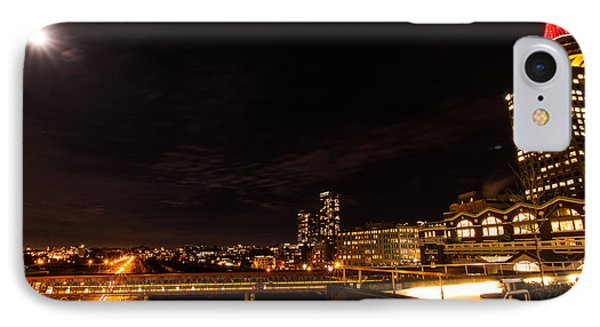 IPhone Case featuring the photograph Wide-angle Vancouver by Haren Images- Kriss Haren