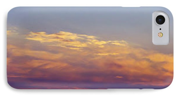 Wide Sunset Panorama IPhone Case