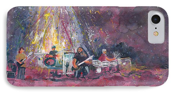 Widespread Panic Painted Live  Phone Case by David Sockrider