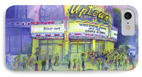 Widespread Panic Uptown Theatre  Phone Case by David Sockrider