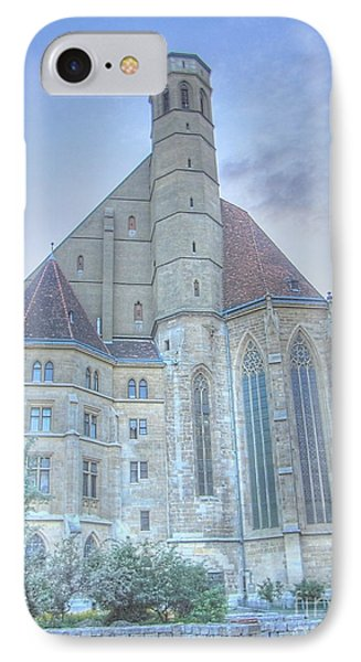 Wienn Cathedral Austria IPhone Case by Yury Bashkin
