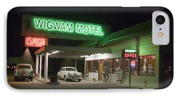 Wigwam Motel In Holbrook IPhone Case by Carol M Highsmith