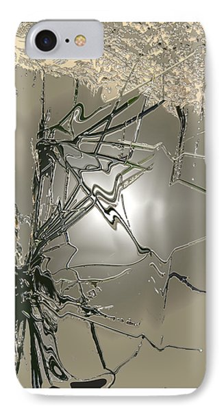 IPhone Case featuring the digital art Wiki  by Bob Salo