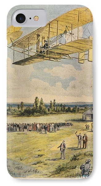 Wilbur Wright Airborne Phone Case by Mary Evans Picture Library