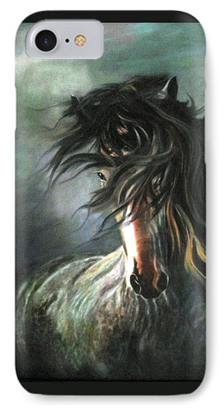 IPhone Case featuring the painting Wild And Free by LaVonne Hand