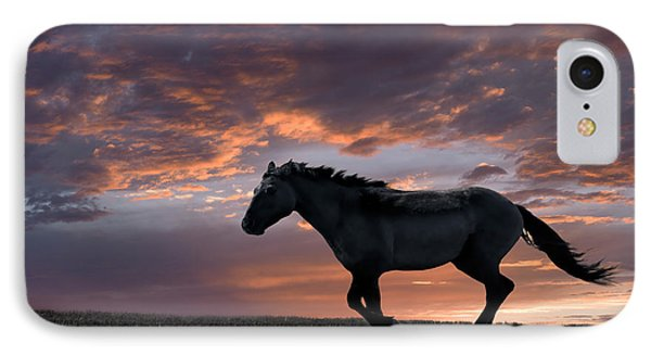 Wild And Free Phone Case by Leland D Howard