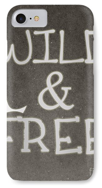 Wild And Free IPhone Case by Pati Photography