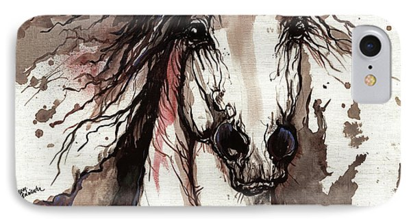 Wild Arabian Horse Phone Case by Angel  Tarantella