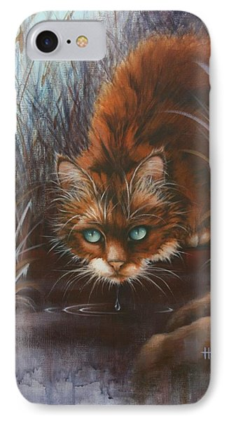 IPhone Case featuring the painting Wild At Heart by Cynthia House