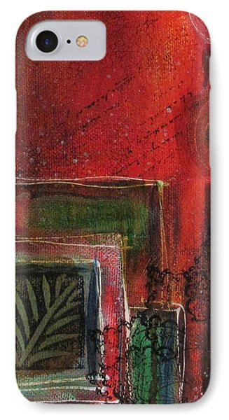 IPhone Case featuring the painting Wild At Heart by Nicole Nadeau