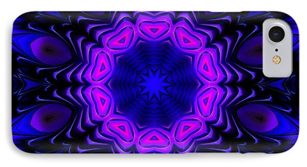 IPhone Case featuring the digital art Wild Blue by Hanza Turgul