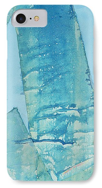 IPhone Case featuring the painting Wild Blue Waves by Asha Carolyn Young