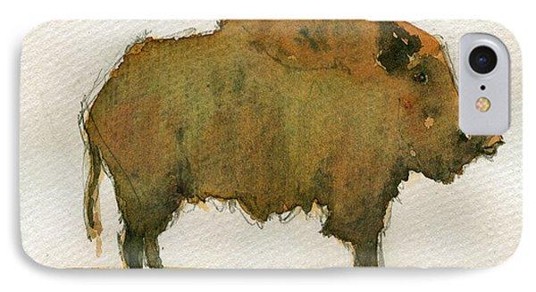 Wild Boar IPhone Case