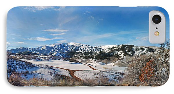 Wild Cat Ranch - Snowmass IPhone Case