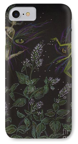 Wild Catnip IPhone Case by Dawn Fairies