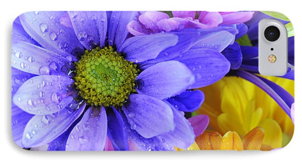 Wild Crazy Daisies 2 IPhone Case by Kenny Francis