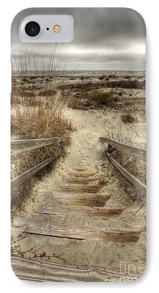 Wild Dunes Beach South Carolina Phone Case by Dustin K Ryan