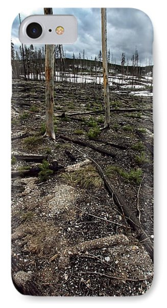 IPhone Case featuring the photograph Wild Fire Aftermath by Amanda Stadther
