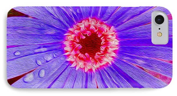 Wild Flower Close Up IPhone Case by Jon Neidert