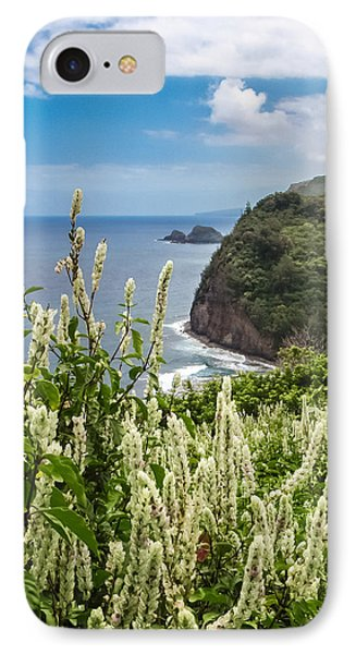 Wild Flowers At Pololu IPhone Case by Denise Bird