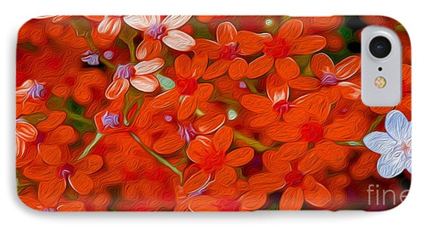 Wild Flowers IPhone Case by Jon Neidert