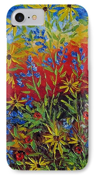 Wild Flowers IPhone Case by Katia Aho