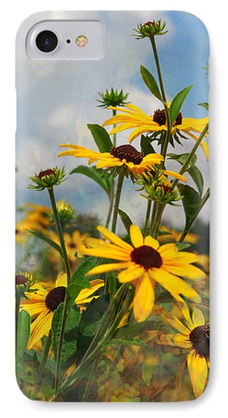 IPhone Case featuring the digital art Wild Flowers by Lena Wilhite