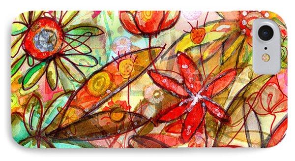 Wild Flowers Series #1 Phone Case by Niya Christine