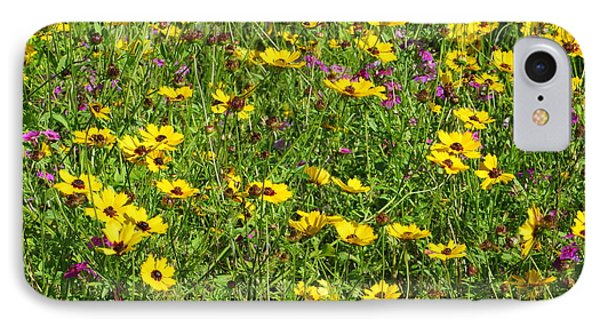Wild Flowers IPhone Case by Tim Townsend