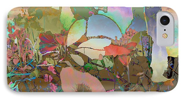 IPhone Case featuring the digital art Wild Flowers by Ursula Freer