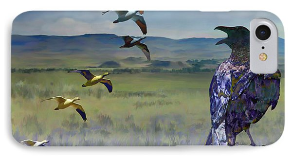 Wild Geese IPhone Case
