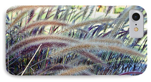 Wild Grasses In Autumn IPhone Case by Ellen Tully