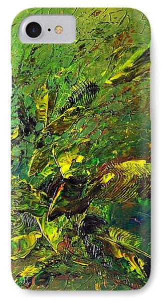 Wild Green Phone Case by Thierry Vobmann