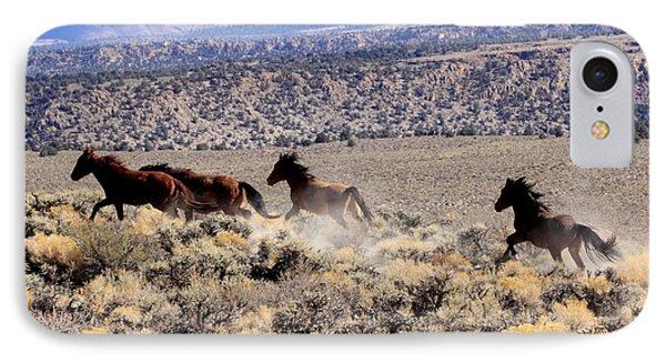 Wild Horses I IPhone Case